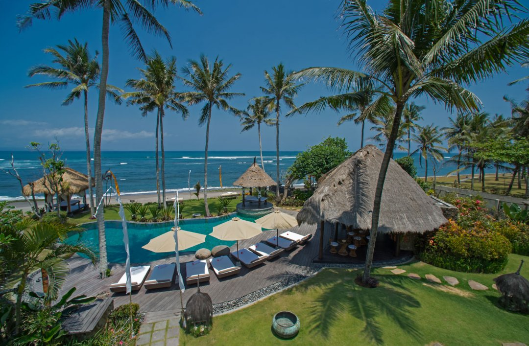 Villa Taman Ahimsa Pool With Ocean View