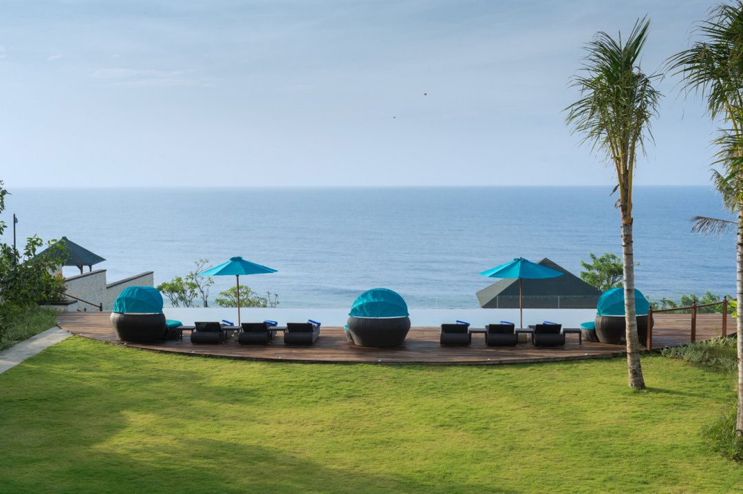 Villa Rose in Pandawa Cliff Estate Pool With Ocean View
