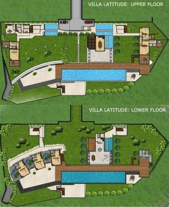 Villa Latitude Floor Plan