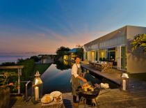Villa Karang Kembar II, Dining With Ocean View