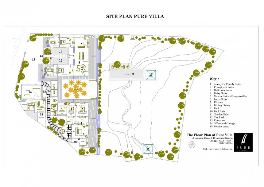 Villa Pure Floor Plan