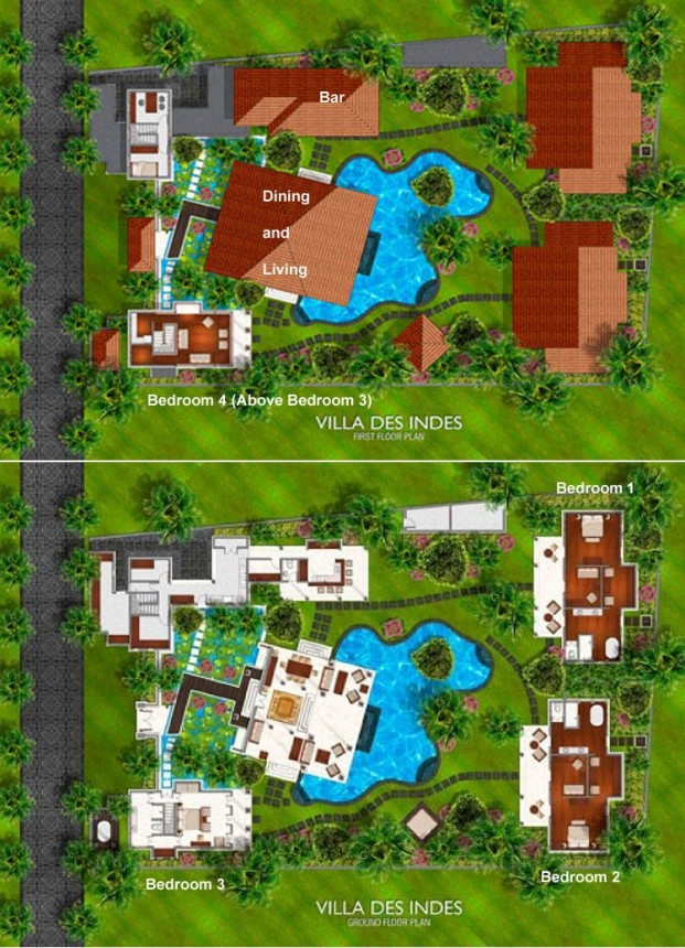 Villa Des Indes I Floor Plan